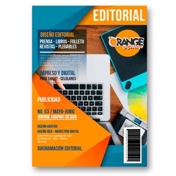 Diseño Editorial - Orange Publicidad